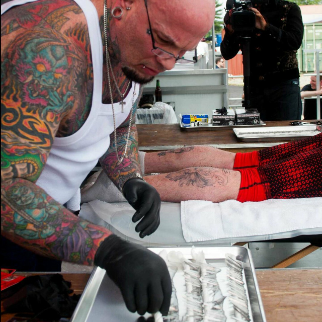Piercing World Record - Forever Inksanity - Tattoos & Body Piercings